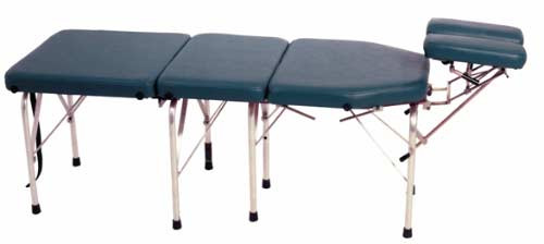 Lloyd C108A Portable Chiropractic Drop Table - Adjustable legs