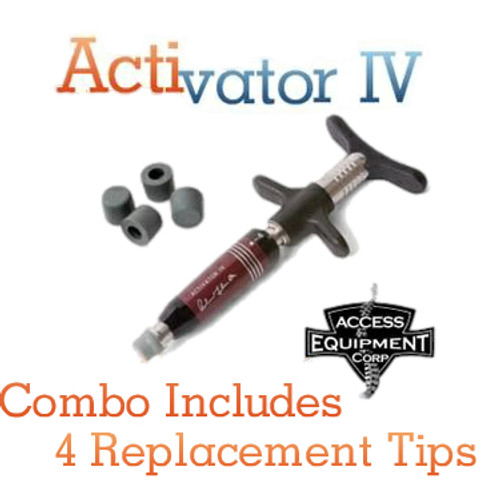 ACTIVATOR IV-EZ GRIP with replacement tips