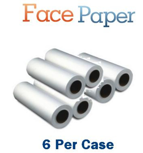White Smooth Headrest Paper 6 count