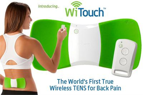 WiTouch Wireless Tens Unit  NO PRESCRIPTION NEEEDED!!!