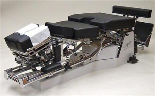 Zenith A30 Pierce Hylo Table with Air Cervical, Dorsal, & Pelvic Drop