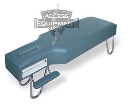 Galaxy Chiropractic Table Fixed Head with Arm Rest