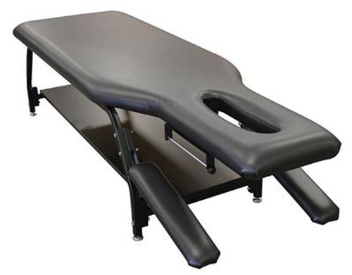 Therapy Table with Fixed Head and Shelf - EB8020SH