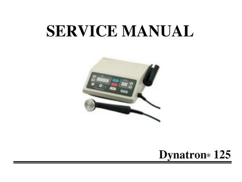 Dynatron 125 Service Manual with Schematics - PDF Download