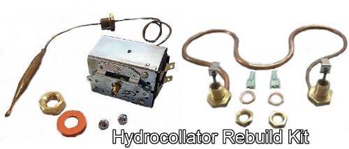 Chattanooga Hydrocollator Heating Element & Thermostat Rebuild KIT