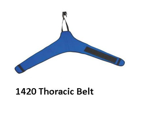 Chattanooga QuickWrap THORACIC Traction Belt