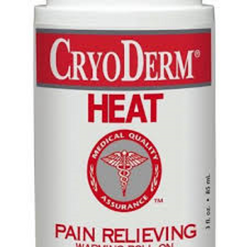 CryoDerm Pain Relieving Heat Therapy 4oz Gel