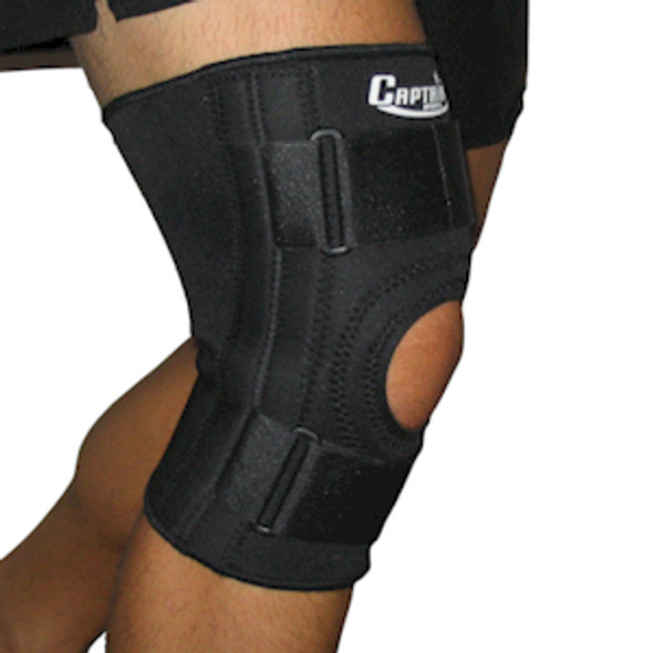 Knee Brace with Lateral Supports