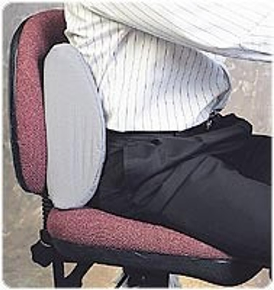 Sitback PLUS Pillow-For the larger-framed person who needs a wider back support