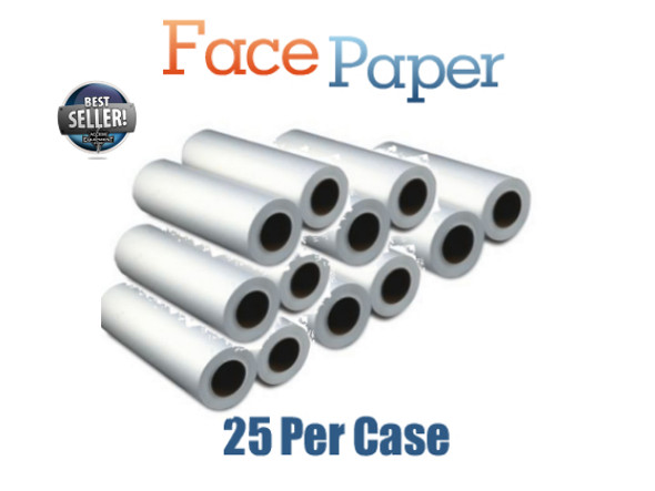 Headrest Paper Crepe- Qty 25 rolls 125 Feet per Roll