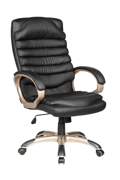 High Back Ribbed Office Chair