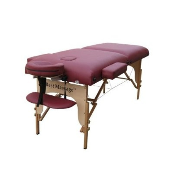 Portable Massage table-Includes Free Carry Case and Free Half round pillow