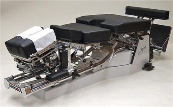 Zenith A30 Pierce Hylo Table with Air Cervical, Dorsal, & Pelvic Drop