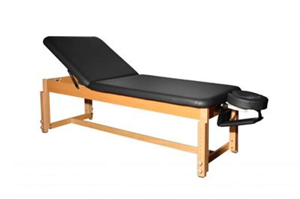 Therapy Bench  withTilt Back &  Head with  Manual Adjustable Height 24-34 inches