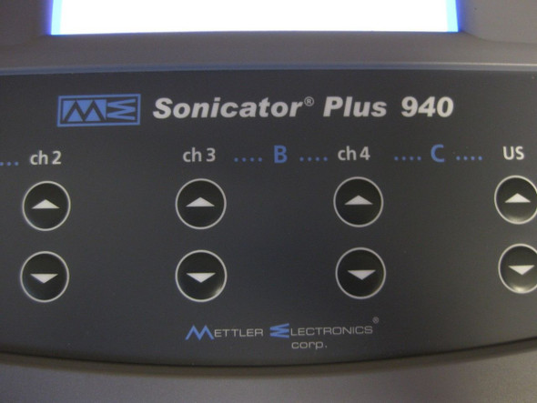 Mettler Sonicator Plus 940 4 Channel Combo Unit