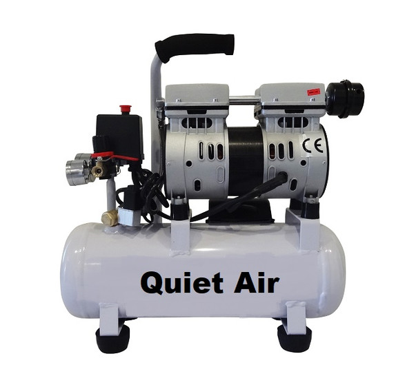 Small Quiet Compressor - Oil Less