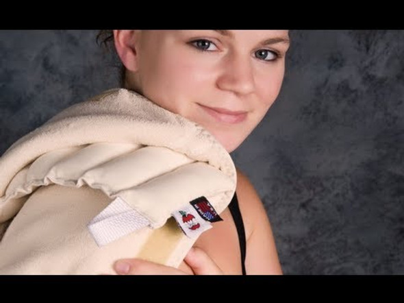 Thermal Core Moist Cervical Heat Hydrocollator Pack Terry Cover