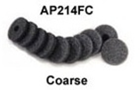 General Physiotherapy Applicator 214FC - Coarse sponge with Plastic Back - Pk of 10