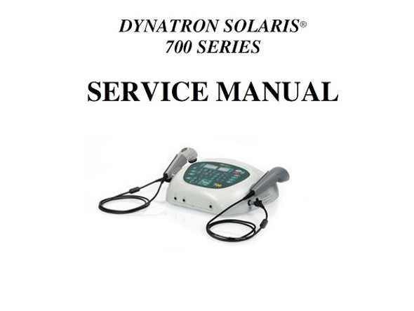 Dynatron Solaris Series Service Manual - PDF Download