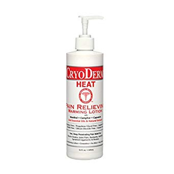 CryoDerm Pain Relieving Heat Therapy 16 oz Pump