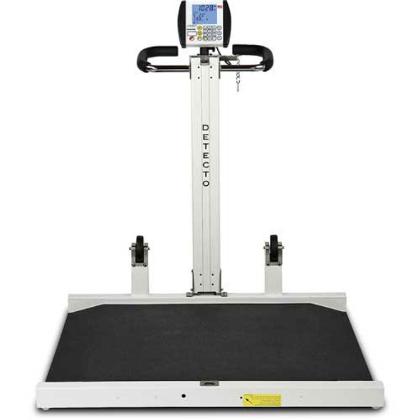 Detecto 6550 Digital Foldable Wheelchair Scale