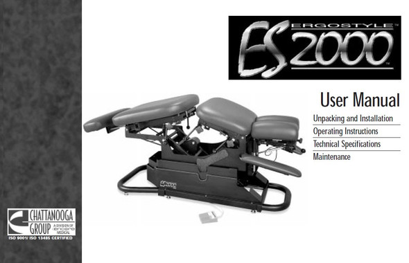 Ergostyle ES 2000 User Manual - PDF Download