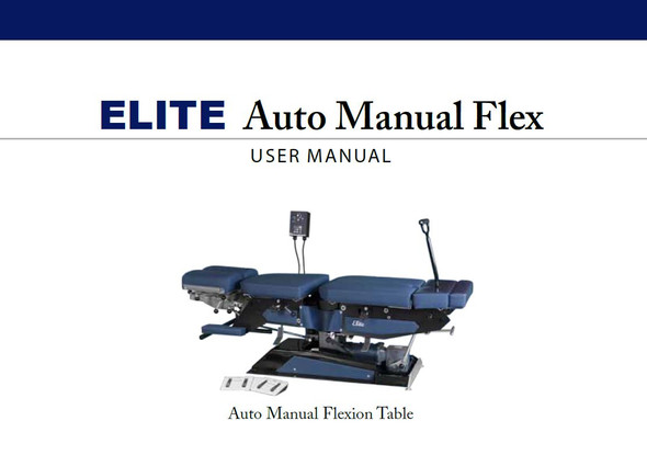Elite Auto Manual Flexion User Manual - PDF Download