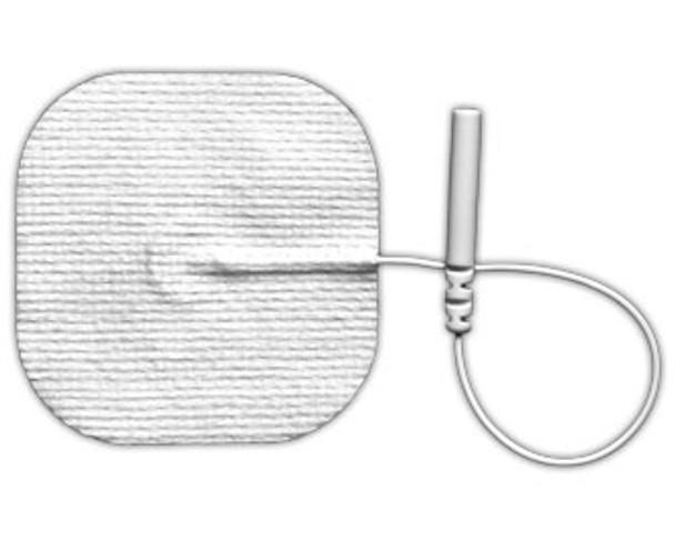 "Electrodes White Cloth 2"" X 2"" Square"