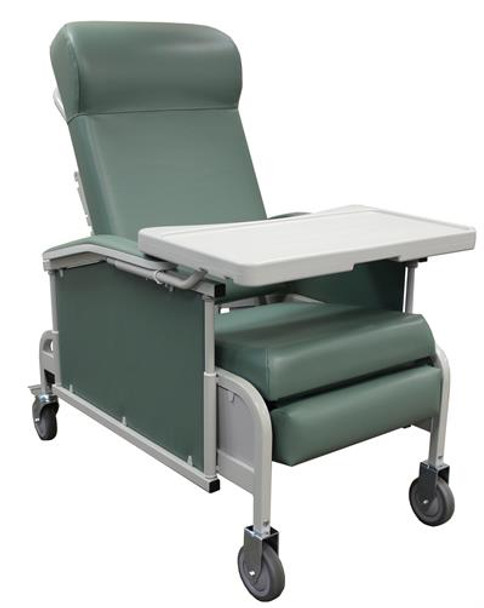 5271 - Winco Drop Arm Convalescent Recliner with Tray