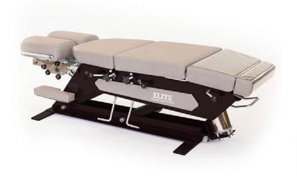 Elite Manual Foot Pump Elevation Table with Black Base
