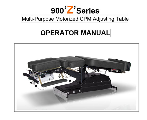 Leander 900Z Operator Manual - PDF Download