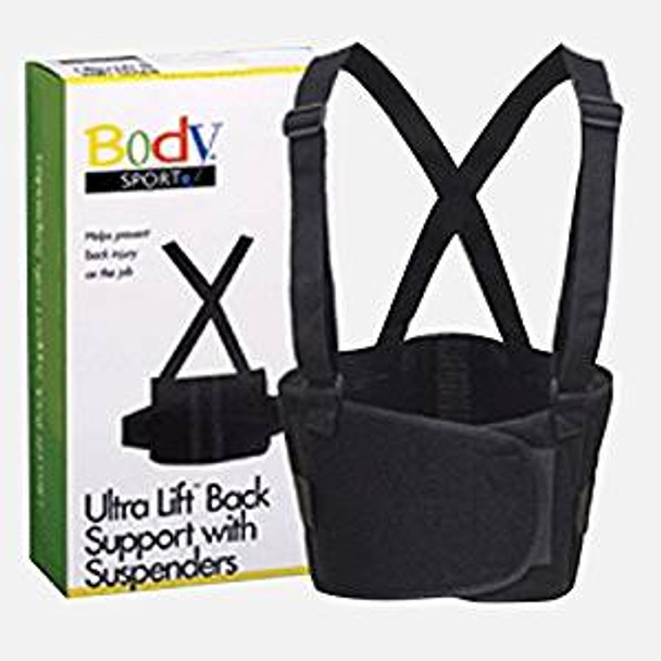 Body Sport UltraLift Back Support with Suspenders