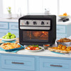 Curtis Stone Dura-Electric 1700-Watt 22L Air Fryer Oven w/Rotisserie