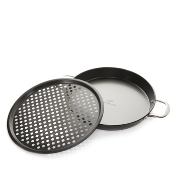 Wolfgang Puck 2-piece Nonstick Pizza Pan Set Model 592-572