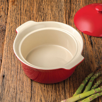 Artisan Series Bakeware BOTTICELLI 2 quart Covered Round Casserole Dish