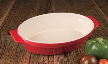 """Artisan Series Bakeware RENOIR 12"""" Au Gratin Baking Dish"""