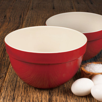 "Artisan Series ROUSSEAU 7.25"" and 8.25"" Mixing Bowl Set"