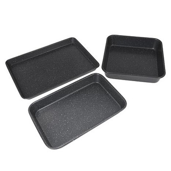 Curtis Stone Dura-Bake 3-piece Bakeware Set Model 642-136