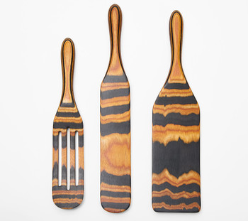 Mad Hungry 3-PC Pakka Wood Spurtle Set Model K48585