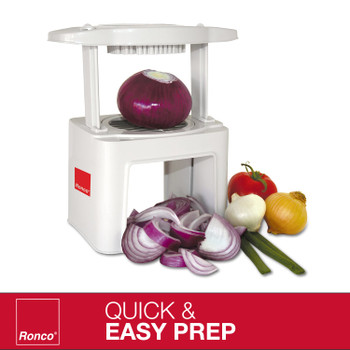 Ronco Veg-O-Matic, Fruit and Vegetable Chopper, Stainless-Steel Blades