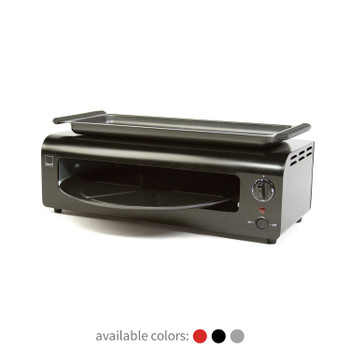 Ronco Pizza & More Home Pizza and Wing Oven with Removable Warming Tray and Pan