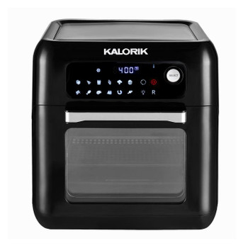 KALORIK 10 QUART DIGITAL AIR FRYER OVEN, BLACK