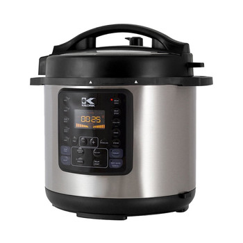 KALORIK 8 QUART 10-IN-1 MULTI USE PRESSURE COOKER, STAINLESS STEEL