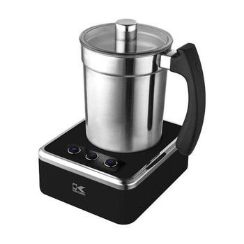 KALORIK MILK FROTHER, BLACK AND STAINLESS STEEL