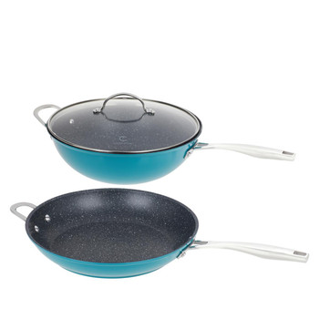 Curtis Stone Dura-Pan All-in-One Pan Set Model 717-309