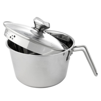 Wolfgang Puck 12-Cup Stainless Steel Pot with Colander Lid  Model 695-303