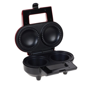 Wolfgang Puck 2-piece Pie & Pastry Maker with Nonstick Plates & Cutter