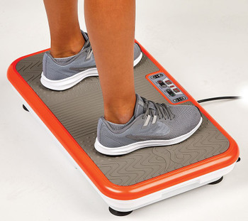 PowerFit Elite Vibration Platform with Exercise Bands and Remote