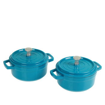 Curtis Stone 2-piece Dura-Pan Micro Bakers Set in Gift Boxes