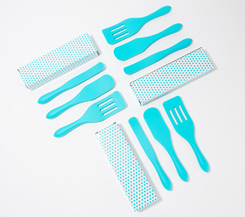 Mad Hungry 9-Piece Mini Silicone Spurtles with Gift Boxes